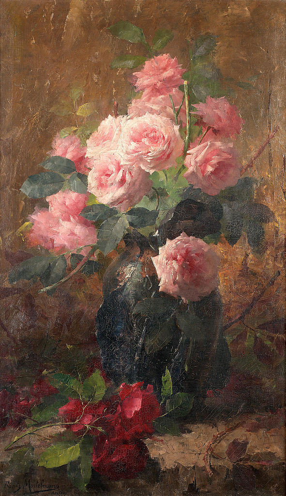 Arts Everyday Living: The Last Roses of Summer---Through an Impressionist's Eyes
