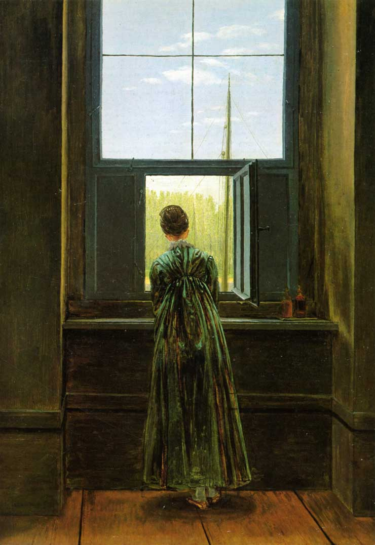 Friedrich: Woman at the Window