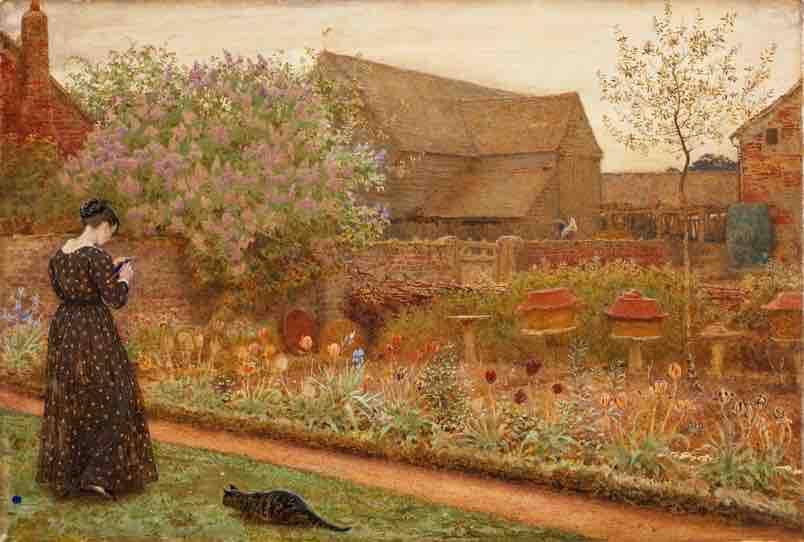 Walker,_The_Old_Farm_Garden,_1871 (1)