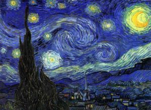 Vincent van Gogh, The Starry Night, 1889, oil on canvas, Museum of Modern Art, New York, New York