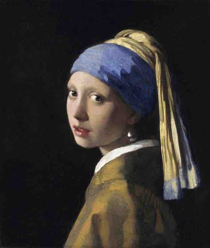 Girl with Pearl Earring – Vermeer