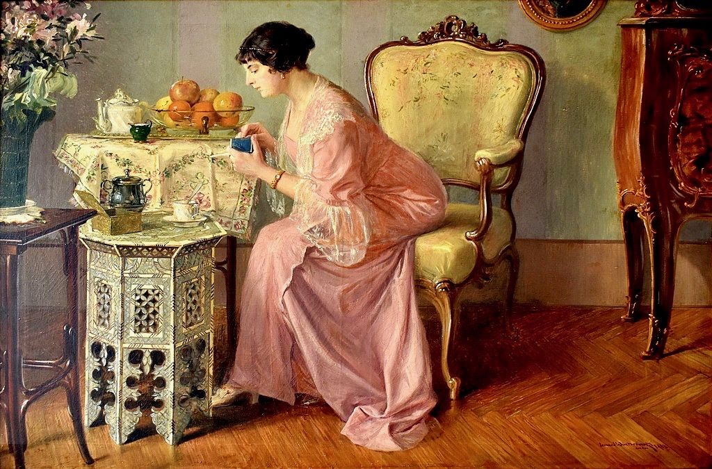 Arts Everyday Living: The Art of Interiors--A Cozy Corner for Morning Coffee
