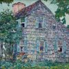Old_House,_East_Hampton_by_Childe_Hassam,_1917 (1)